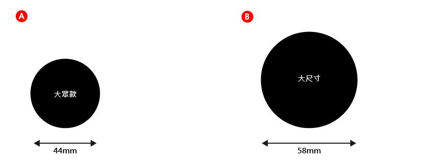 統規:精緻鑰匙圈(尺寸)