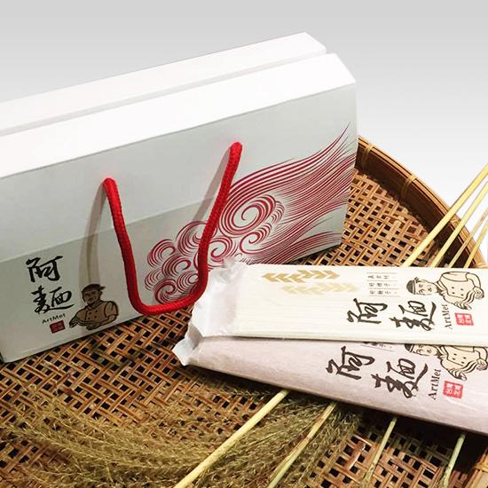 阿麵製麵 包裝盒設計